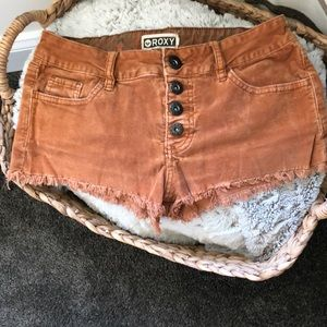 Roxy Button Up Shorts